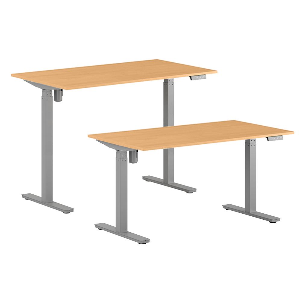 Hev- og senkbare skrivebord